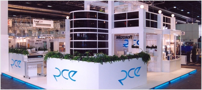 RCE stand having more than one storey